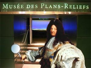 Jeu d'enquête : Les énigmes du Roi-Soleil © Musée des Plans-reliefs, G. Froger