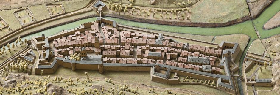 Détail du plan-relief de Villefranche-de-Conflent (1701) ©Paris, Musée des Plans-Reliefs / RMN-GP, A. Didierjean