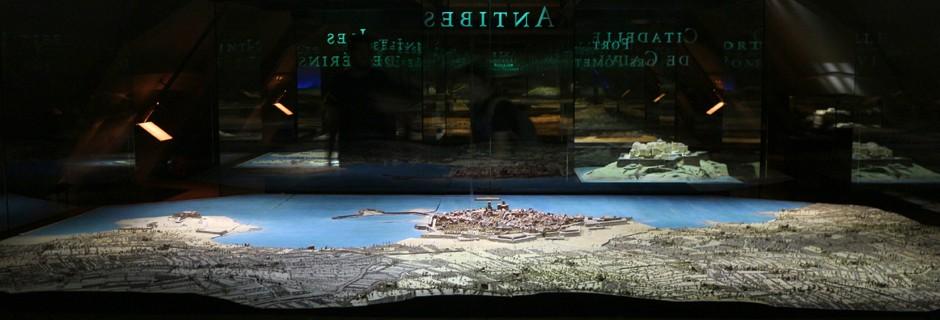 Plan-relief d'Antibes ©Paris, Musée des Plans-reliefs / G. Froger