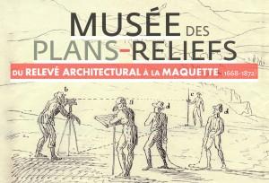 Affiche de l'exposition dans les Douves, 2015 ©Paris, Musée des Plans-reliefs