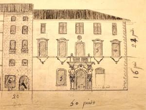 Cahier de développement du plan-relief de Toulon (18e siècle) © Musée des Plans-reliefs, G. Froger