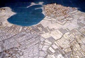 Plan-relief d'Antibes ©Paris, Musée des Plans-reliefs