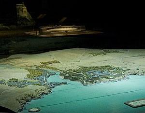 Belle-Île (vue générale) ©Paris, Musée des Plans-reliefs