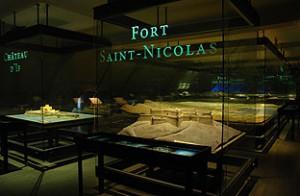Le fort Saint-Nicolas ©Paris, Musée des Plans-reliefs