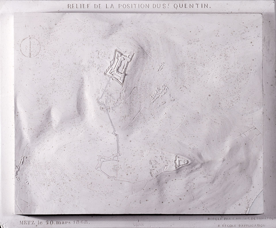 Relief de la position du St-Quentin (Metz)