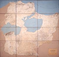 Plan-relief de Bizerte et de ses environs