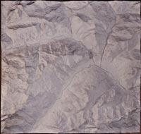 Briançon (environs), carte en relief (1)