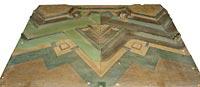 Modèle du front de fortification de Coehoorn (1er système, 1702)