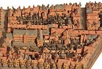 Wesel (2 fragments d'un plan-relief détruit)